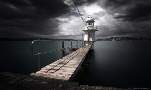Wallpaper Sydney Harbour 5k 4k 8k Lighthouse