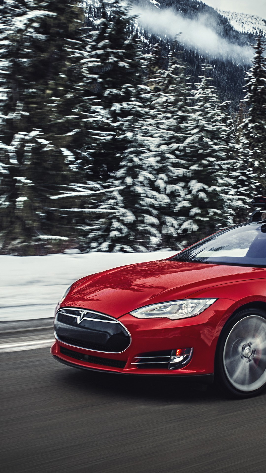 Wallpapers For Girls Spark Wallpaper Tesla Model S P85d Quickest Electric Cars