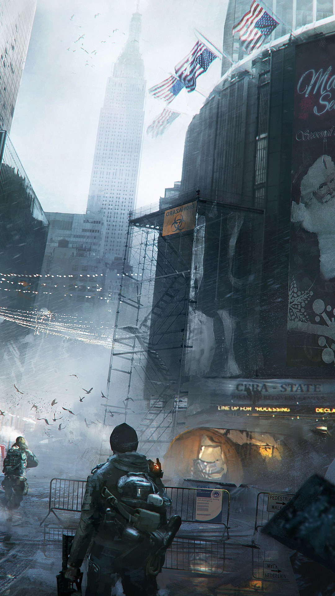 Wallpaper The Division Tom Clancy S Game Apocalypse