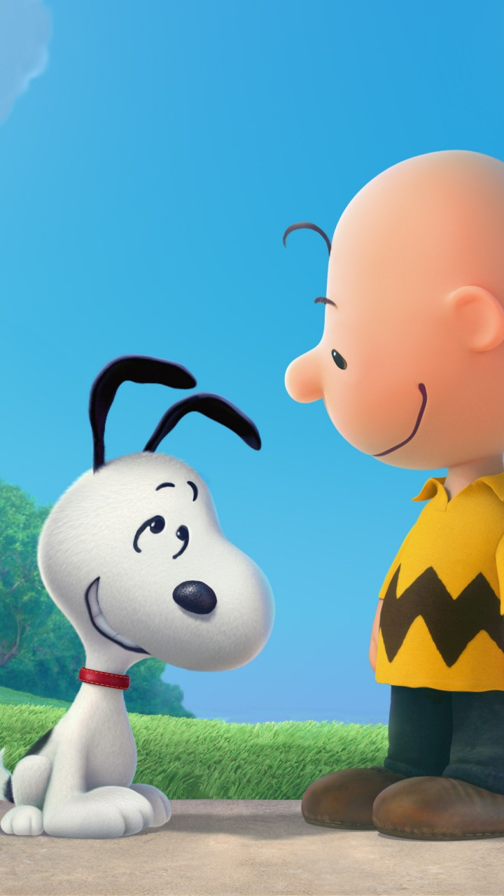 Cartoon Wallpaper For Iphone X Wallpaper The Peanuts Movie Snoopy Charlie Brown Movies