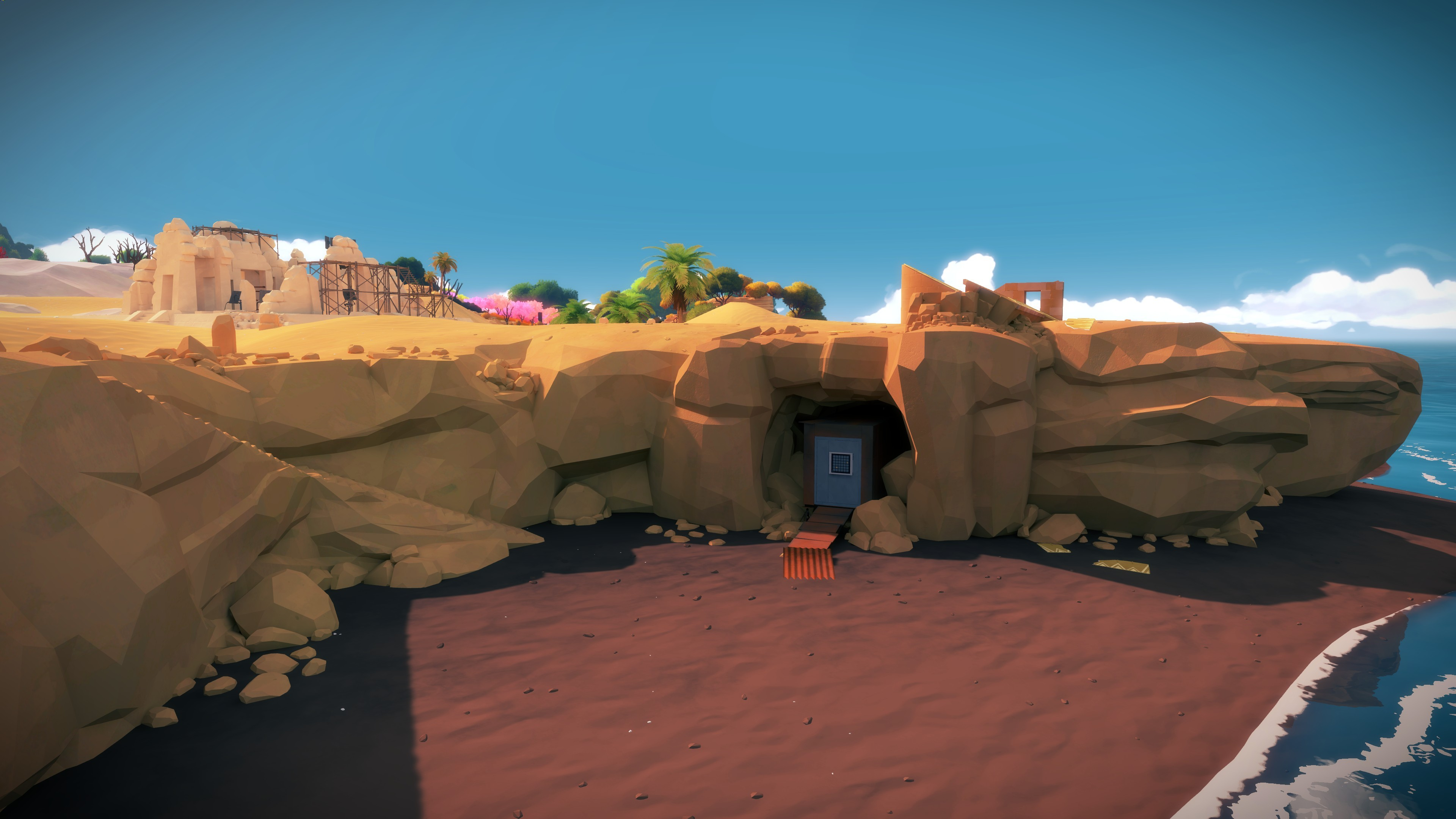 Download 3d Video Wallpaper For Pc Wallpaper The Witness Puzzle Quest Pc Xbox One Ps4