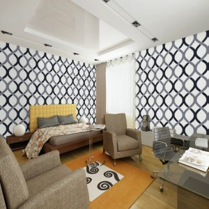 geometric living background wall modern pvc swirl roll walls wallcovering wallpapersafari discount wallpapers bedroom floral