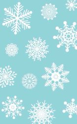 christmas winter iphone cute wallpapers desktop snowflakes xmas snowflake phone background backgrounds pattern pretty hd cool ipad resolution screen wallpapersin4k