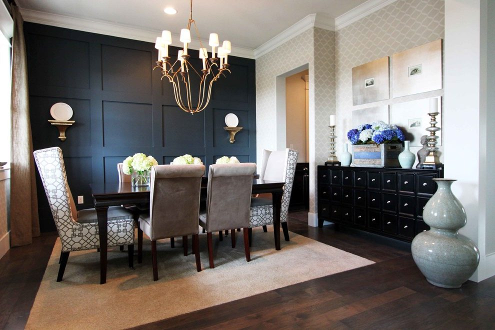 Download Wallpaper Accent Wall Dining Room Gallery
