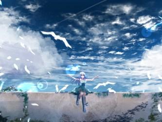 anime scenery outdoor desktop background hd 1152 2048 wallpapersmug