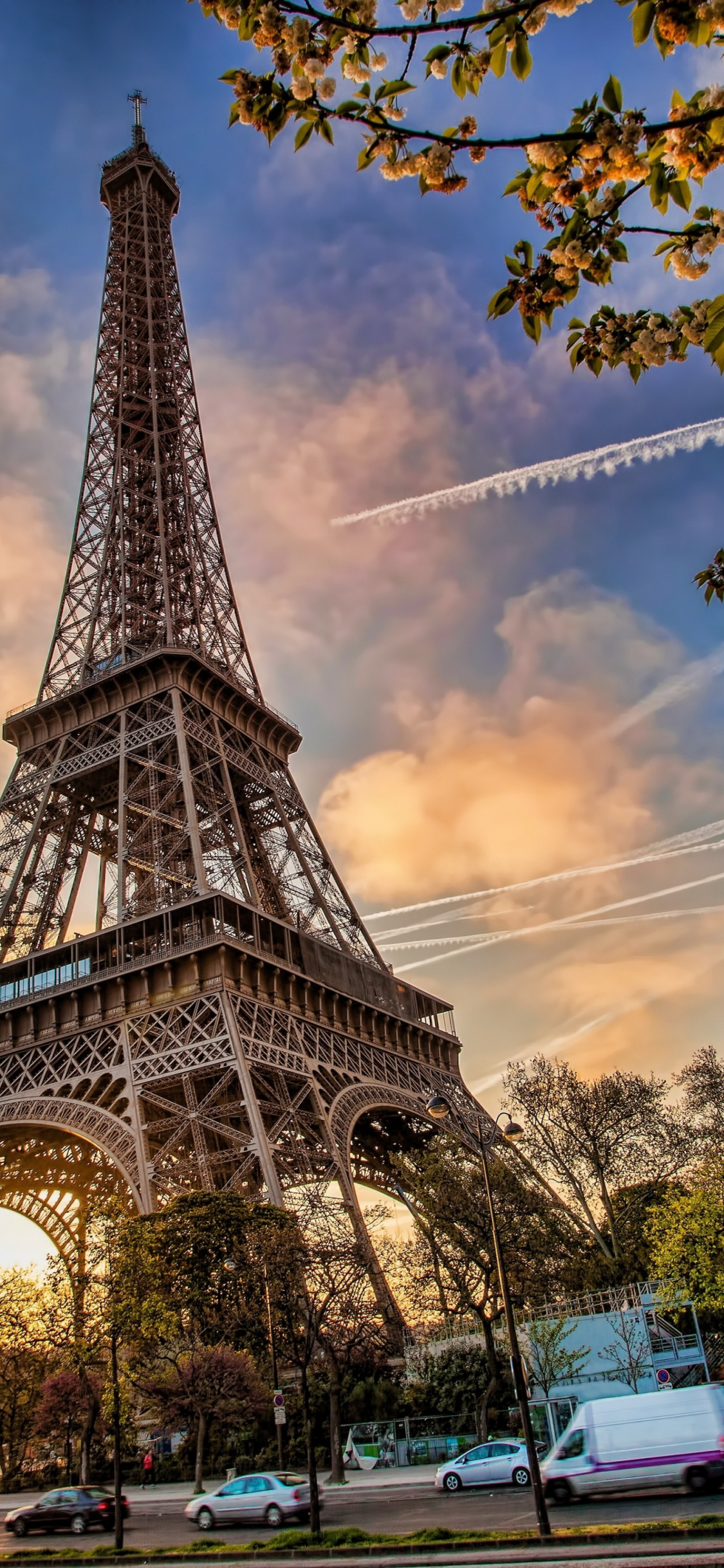 Cute Wallpaper Paris Download 1125x2436 Wallpaper Eiffel Tower Architecture
