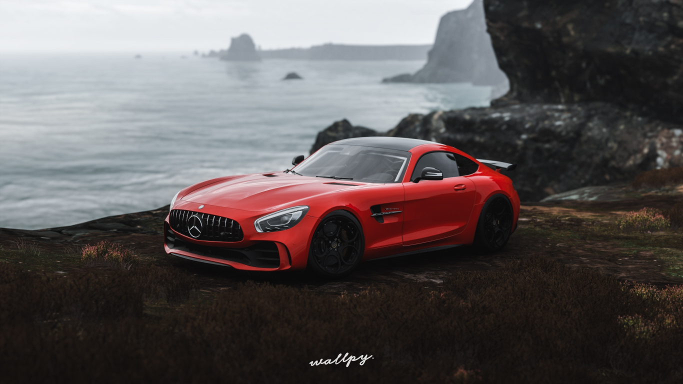 We're going to the uk. Download 1366x768 Wallpaper Mercedes Amg Gt R Off Road Forza Horizon 4 Video Game Tablet Laptop 1366x768 Hd Image Background 17811
