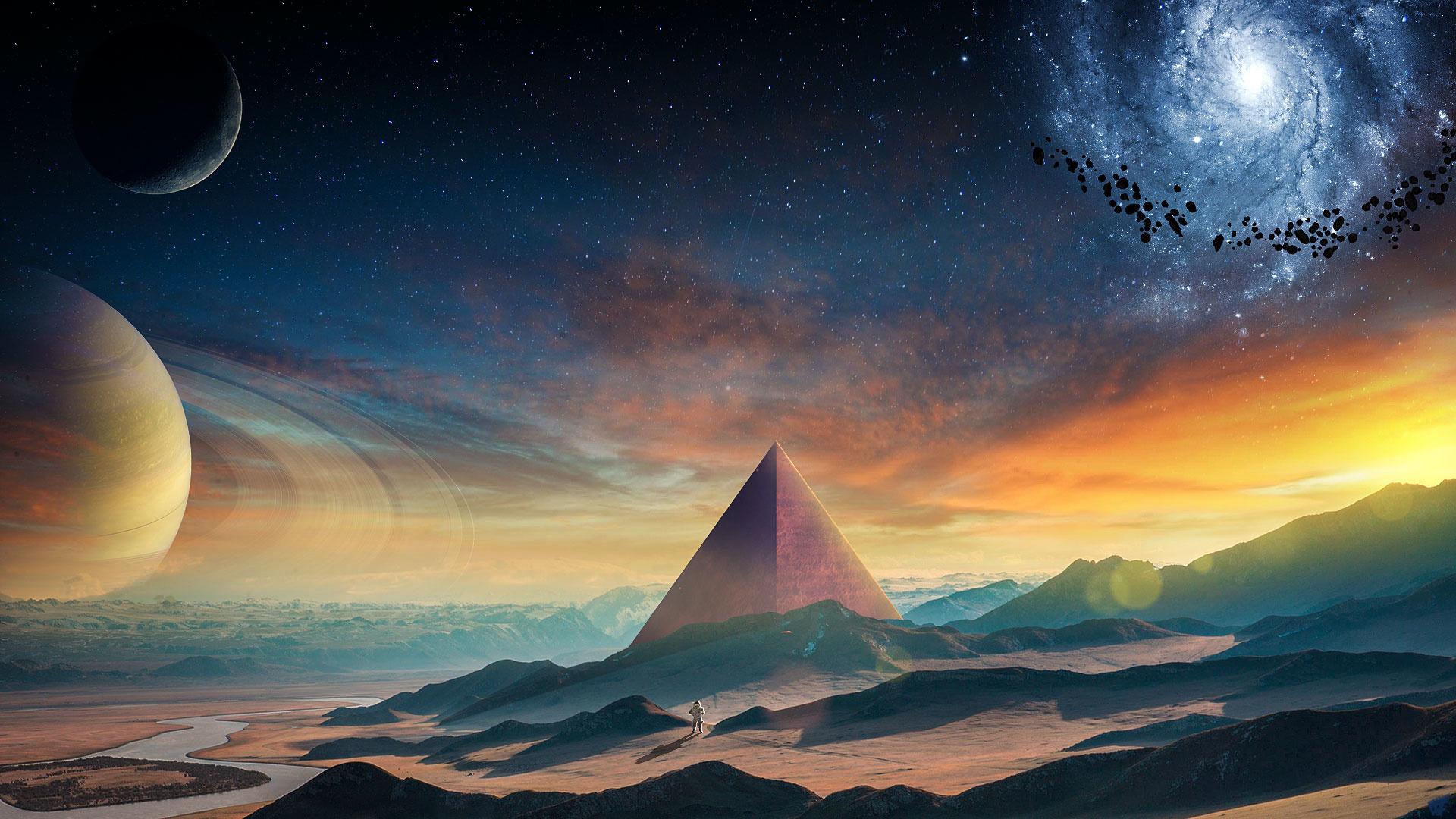 Samsung Galaxy S X 1920 Cars Download 1920x1080 Wallpaper Planet Fantasy Pyramids