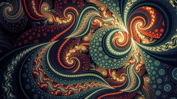 2560x1600 Wallpaper Fractal Spiral Abstract