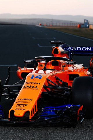Cute Wallpaper For S5 Download 240x320 Wallpaper Mclaren Mcl33 Sports Formula