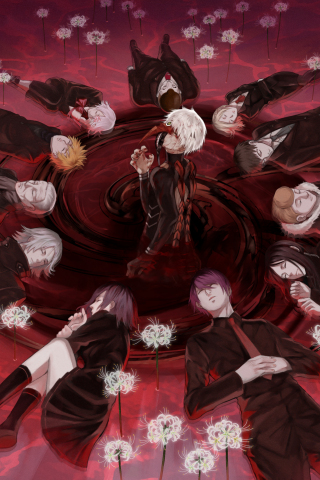 Cute Wallpaper Galaxy S4 Download 240x320 Wallpaper Tokyo Ghoul Anime All