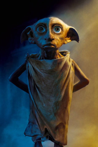Cute Wallpaper Hd Full Size Download 240x320 Wallpaper Dobby The House Elf Harry