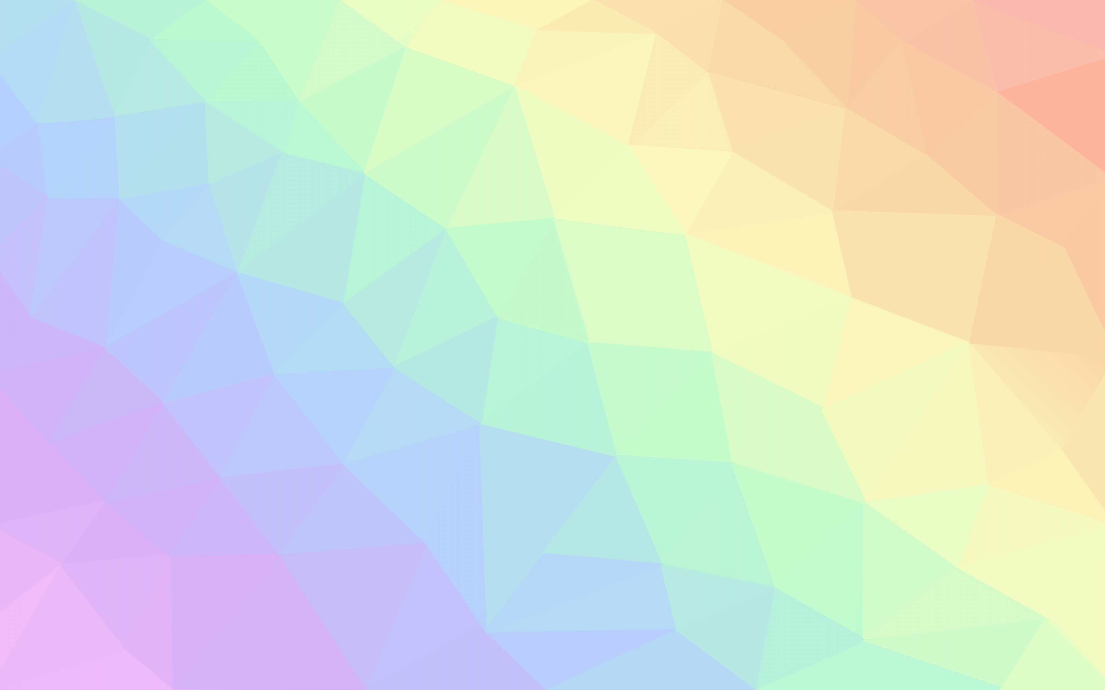 Download 3840x2400 Wallpaper Light Colors Geometric