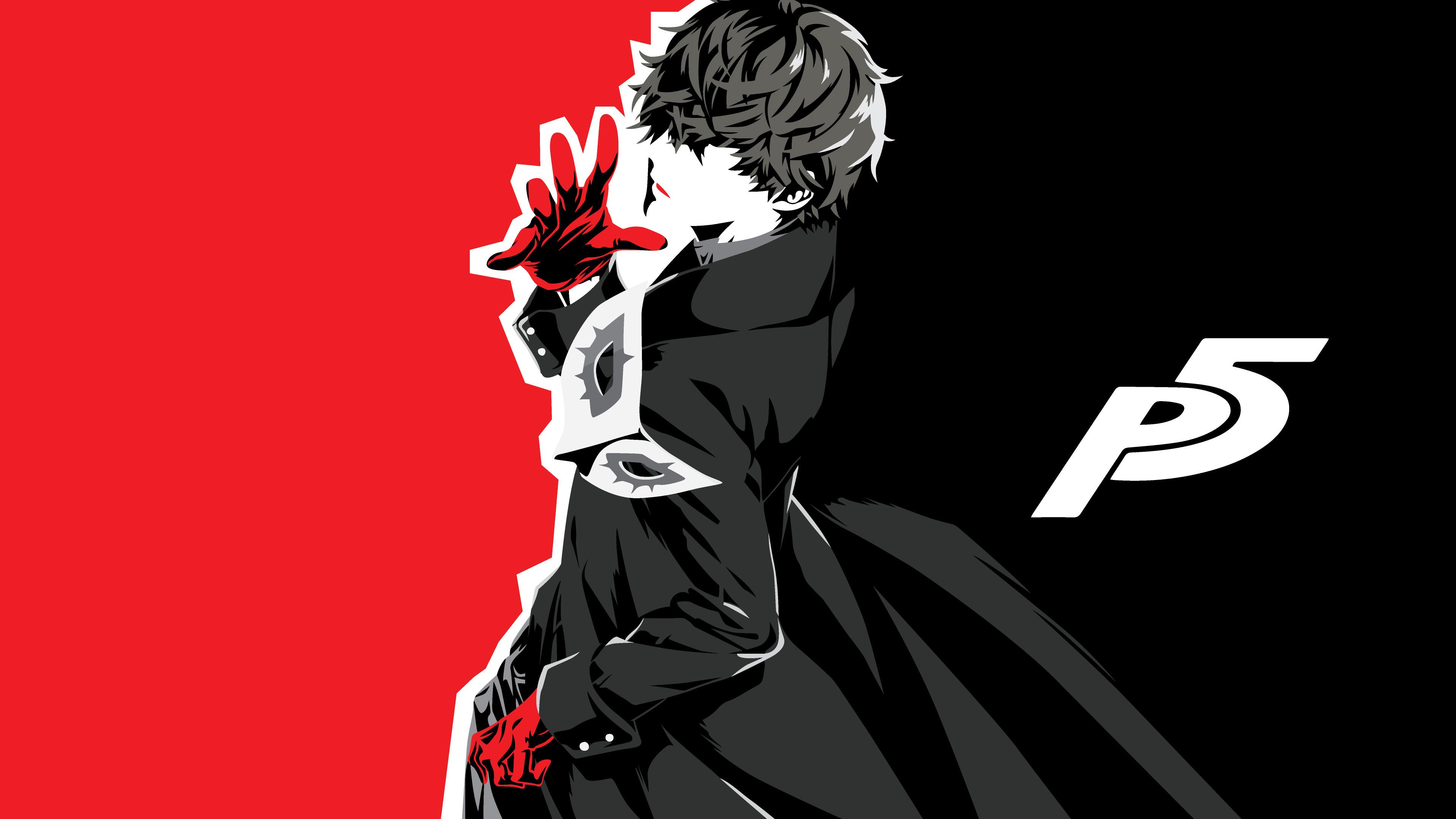Persona 5 Wallpaper Morgana Cute Download 3840x2400 Wallpaper Akira Kurusu Protagonist
