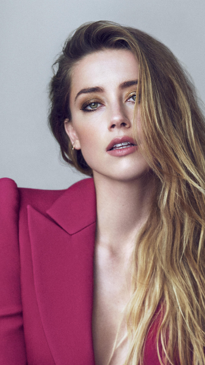 Cute Wallpaper For S5 Download 720x1280 Wallpaper Hot Blonde Amber Heard 2018