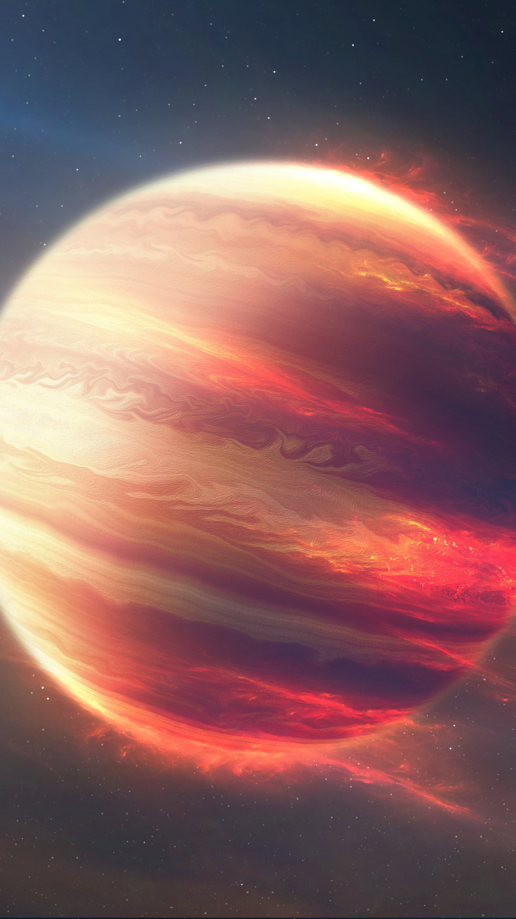 Neptunus Planet : neptunus, planet, Download, 750x1334, Wallpaper, Jupiter,, Planet,, Space,, Digital, Iphone, Image,, Background,