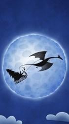 Download 750x1334 wallpaper dragon moon santa claus digital art iphone 7 iphone 8 750x1334 hd image background 1723
