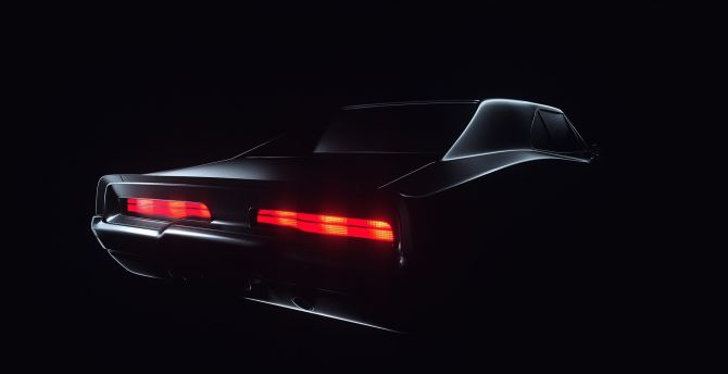 The dodge charger is available with several options for its car audio system. Desktop Wallpaper Dodge Charger Rear Lights Dark Hd Image Picture Background 2998bb