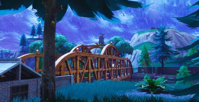 Mobile Wallpapers Gravity Falls Desktop Wallpaper Bridge Video Game Fortnite Hd Image