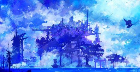 anime cyber cyberpunk artwork background desktop hd 1080p wallpapersmug