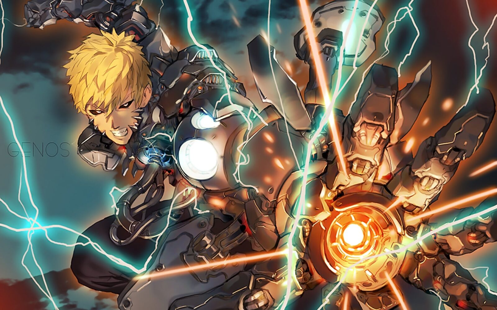 Image result for anime genos