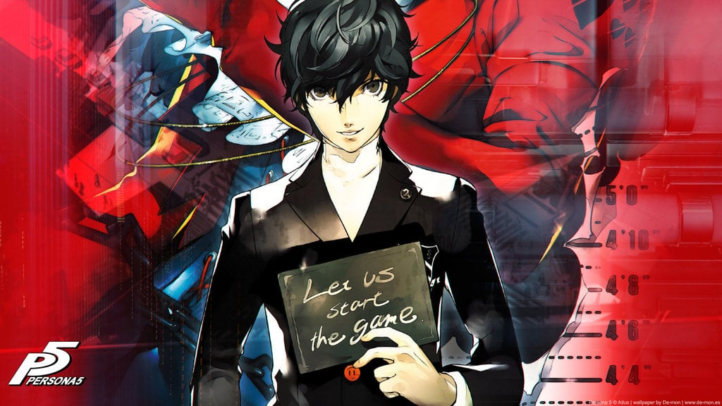 Hd Wallpaper Cars Iphone Protagonist Persona 5 Wallpapers Hd High Quality