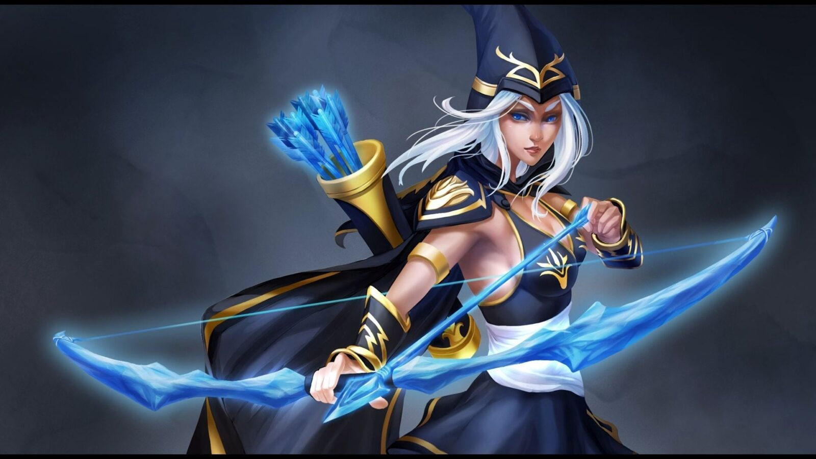 Abstract Wallpaper Hd 21 Ashe League Of Legends Wallpapers Hd Free Download