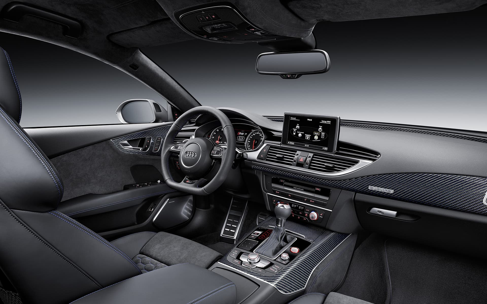 Black Car Hd Wallpaper Download 2016 Audi Rs7 Wallpapers Hd High Quality Resolution Download