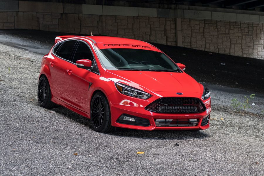 4k Black Car Wallpaper Ford Focus St Photo 01 Of 04 Hd Image 1 On Wallpapersqq