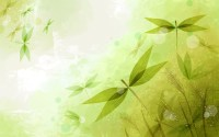 Abstract Leaves Green wallpapers | Abstract Leaves Green ...