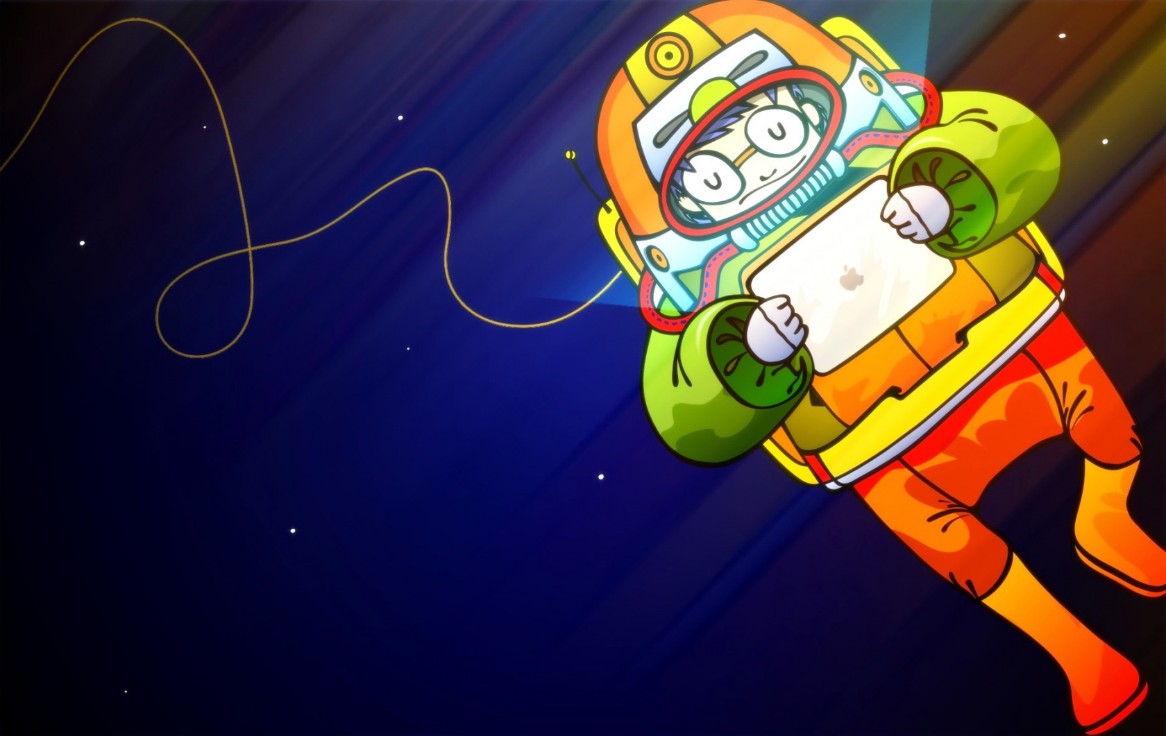 3d Animated Wallpapers For Windows 7 Astronaut With Ipad Wallpapers Astronaut With Ipad Stock
