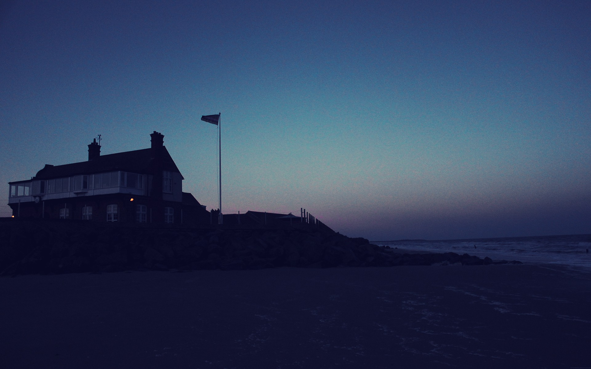 3d Wallpaper House Malaysia Beach House At Night Wallpapers Beach House At Night