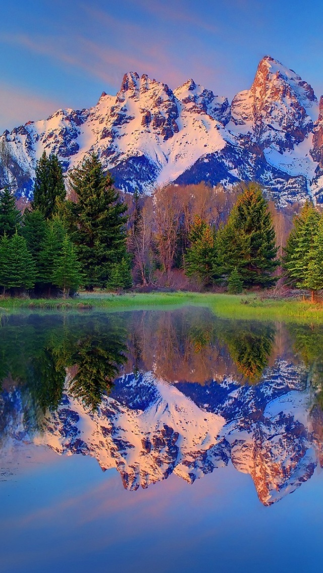 Iphone Os X Wallpaper 640x1136 Beautiful Grand Teton Wyoming Iphone 5 Wallpaper