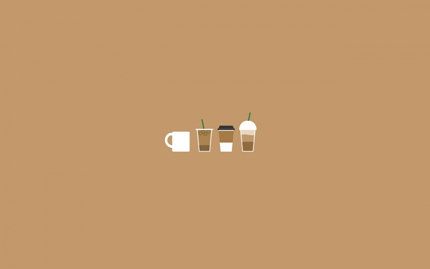 1440x900 Coffee Illustration desktop PC and Mac wallpaper