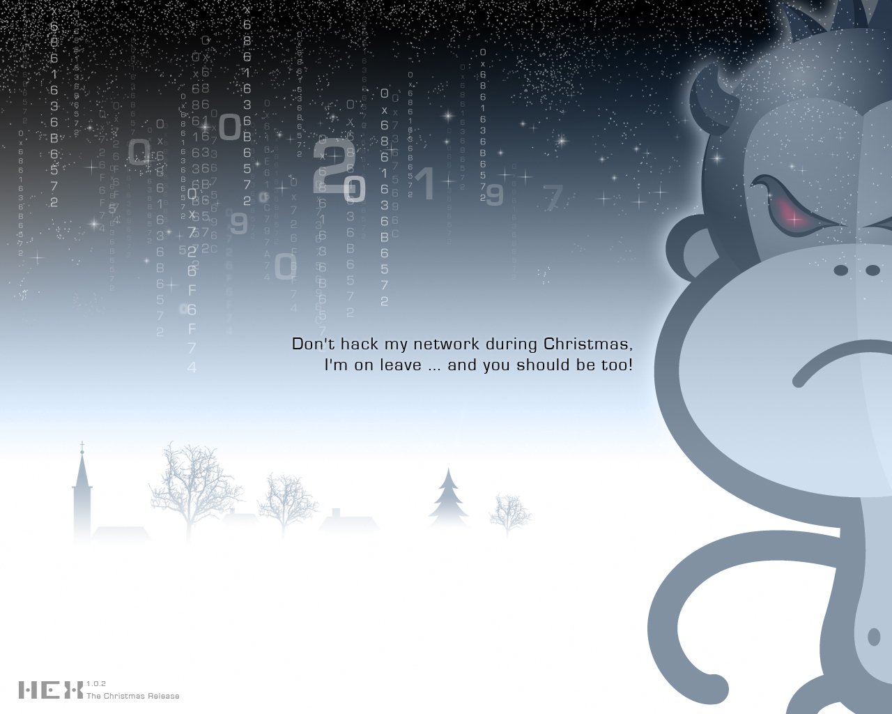 Dont Hack This Christmas Wallpapers Dont Hack This