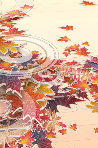 Fall Pictures For Desktop Wallpaper 320x480 Fall Cocktail Iphone Wallpaper
