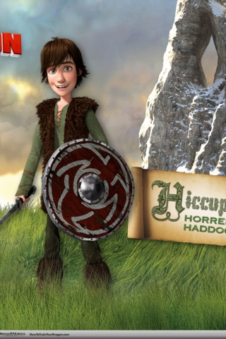 Iphone X Stock Wallpaper 320x480 Hiccup Horrendous Haddock Iii Iphone 3g Wallpaper