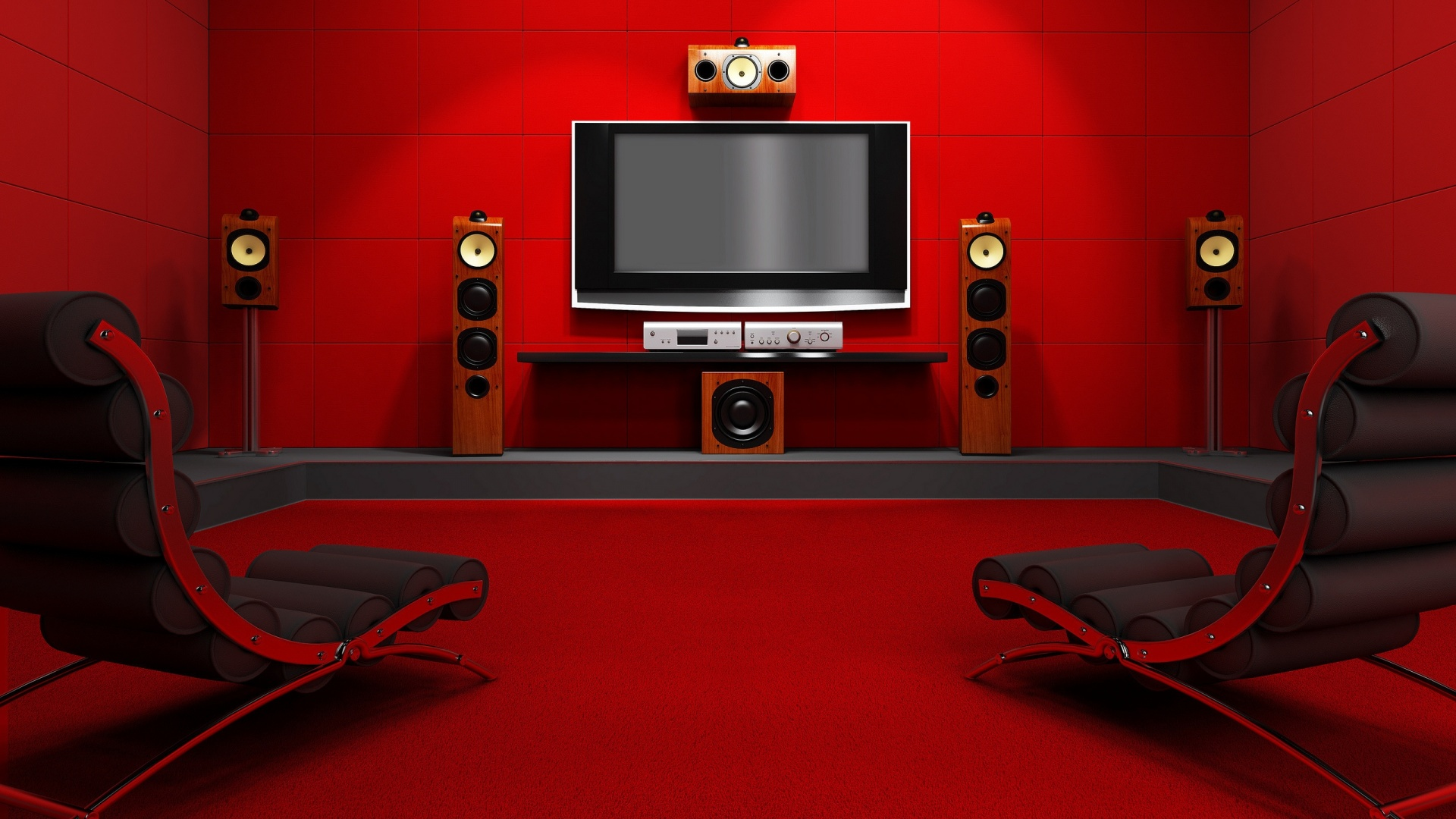 1920x1080 Red Room desktop PC and Mac wallpaper