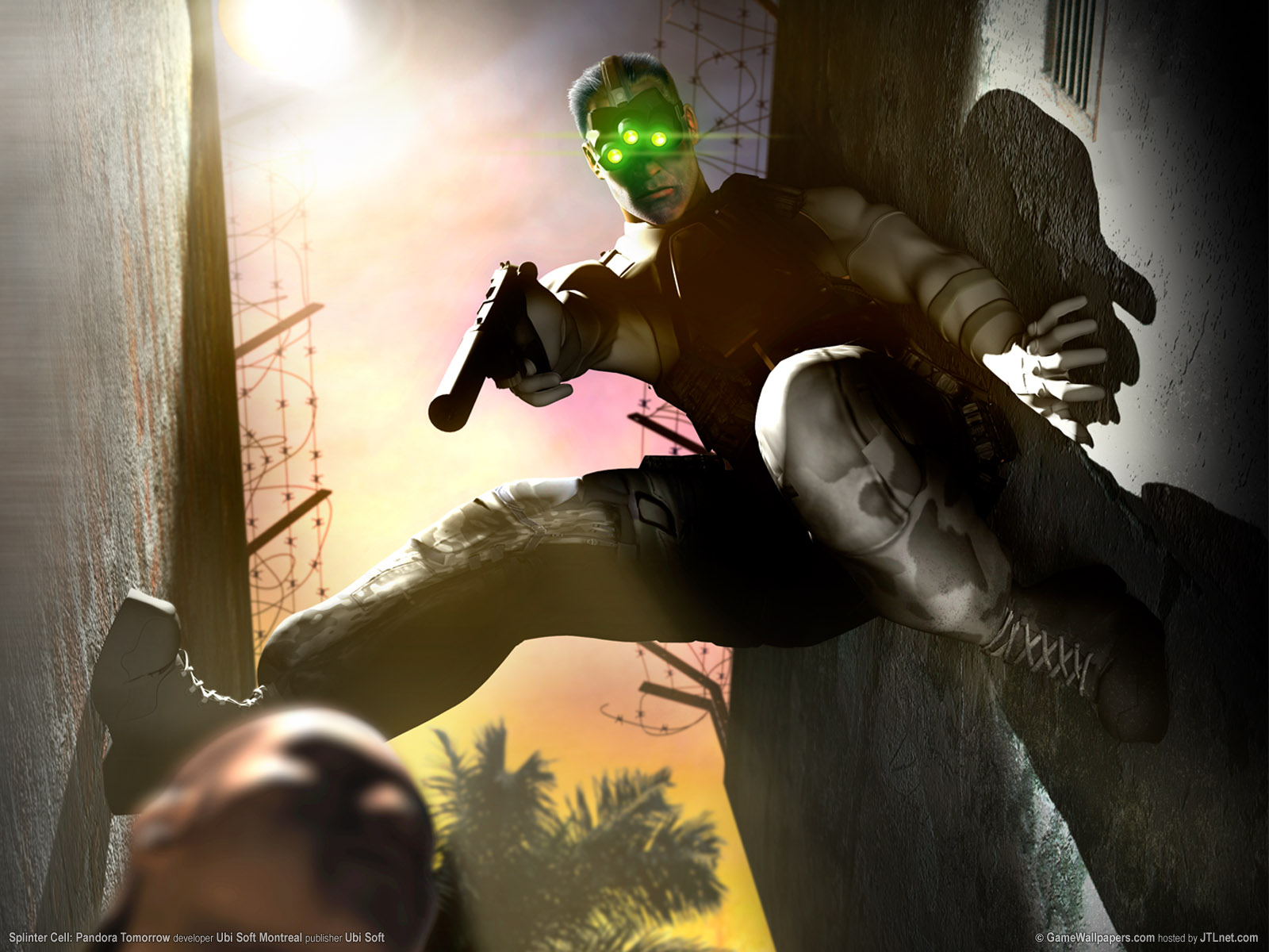 Anime Cry Wallpaper Splinter Cell Pandora Tomorrow Wallpapers Splinter Cell