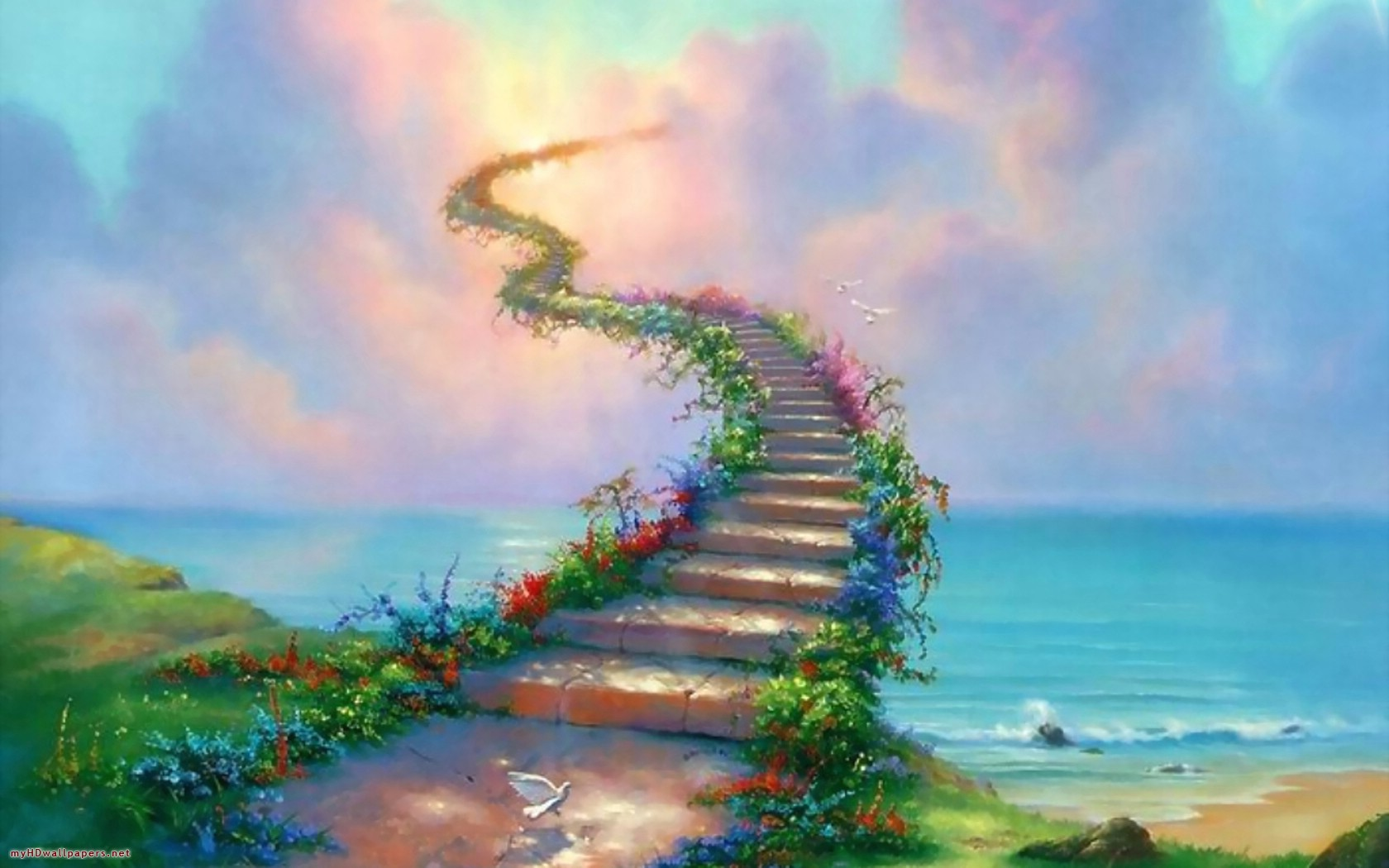 Animated Wallpaper For Tablet Stairway To Heaven Wallpapers Stairway To Heaven Stock