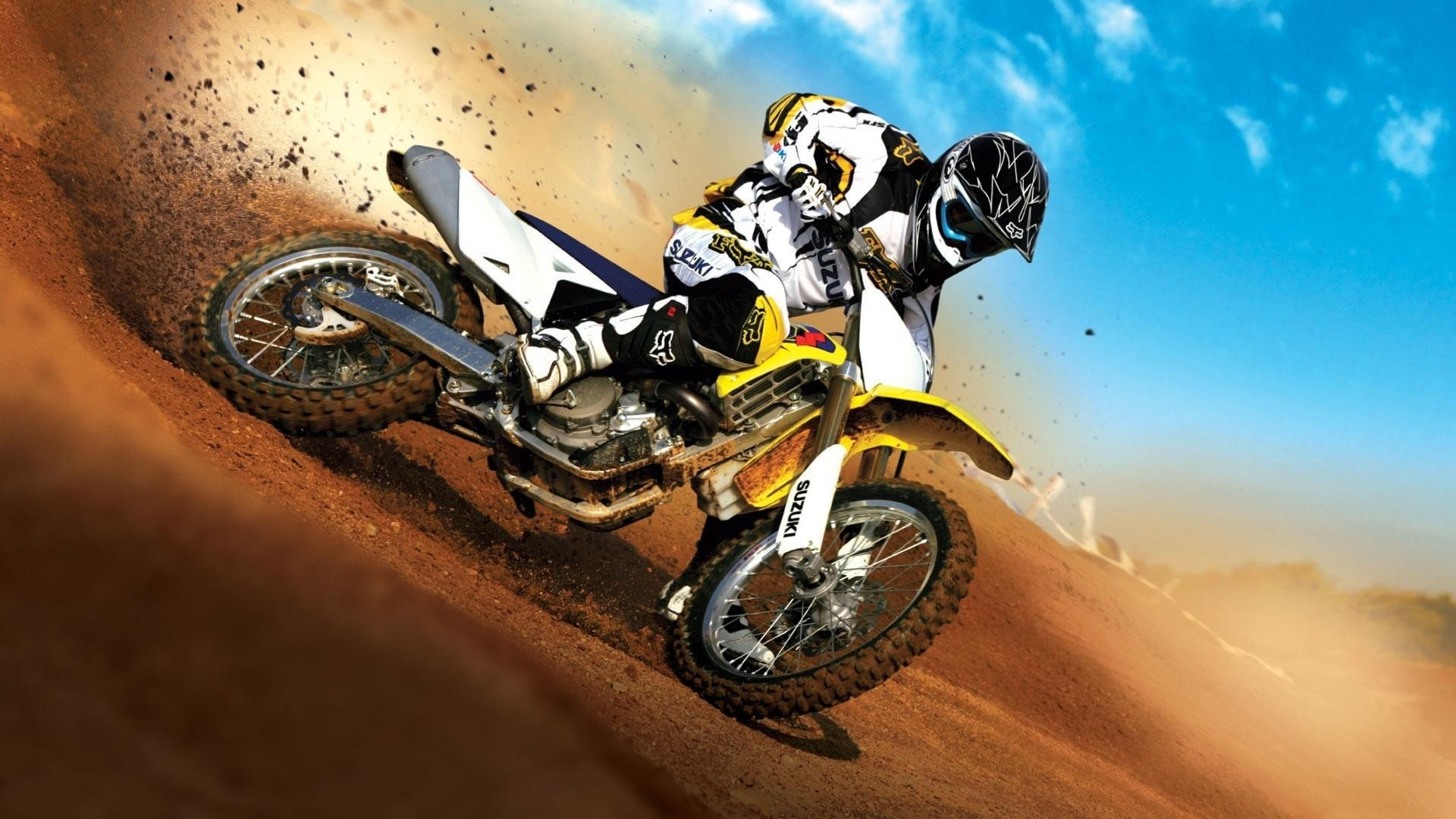 1920x1080 Super Dirt Bike Desktop Pc And Mac Wallpaper