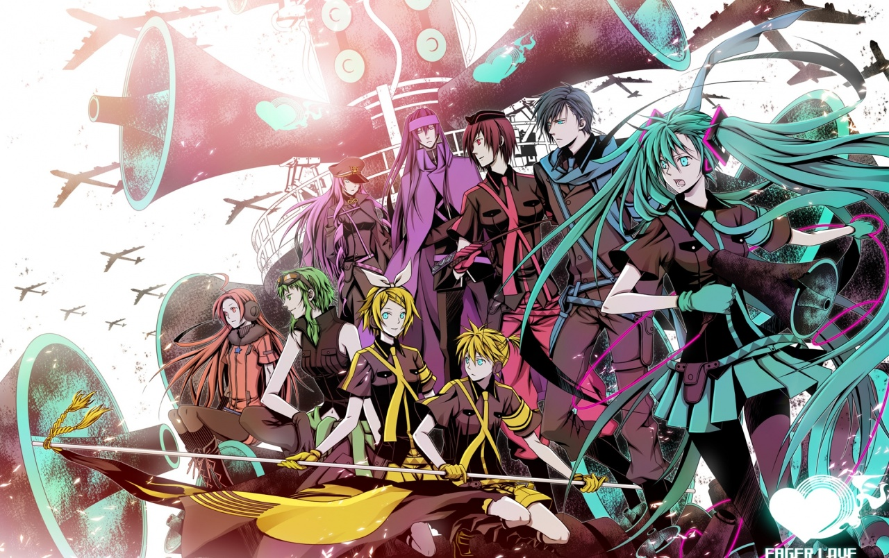 vocaloid characters wallpapers vocaloid