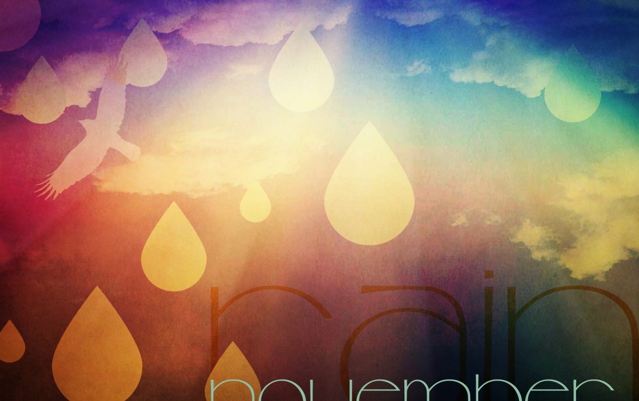 Rain Fall Hd Wallpaper November Rain Wallpapers November Rain Stock Photos