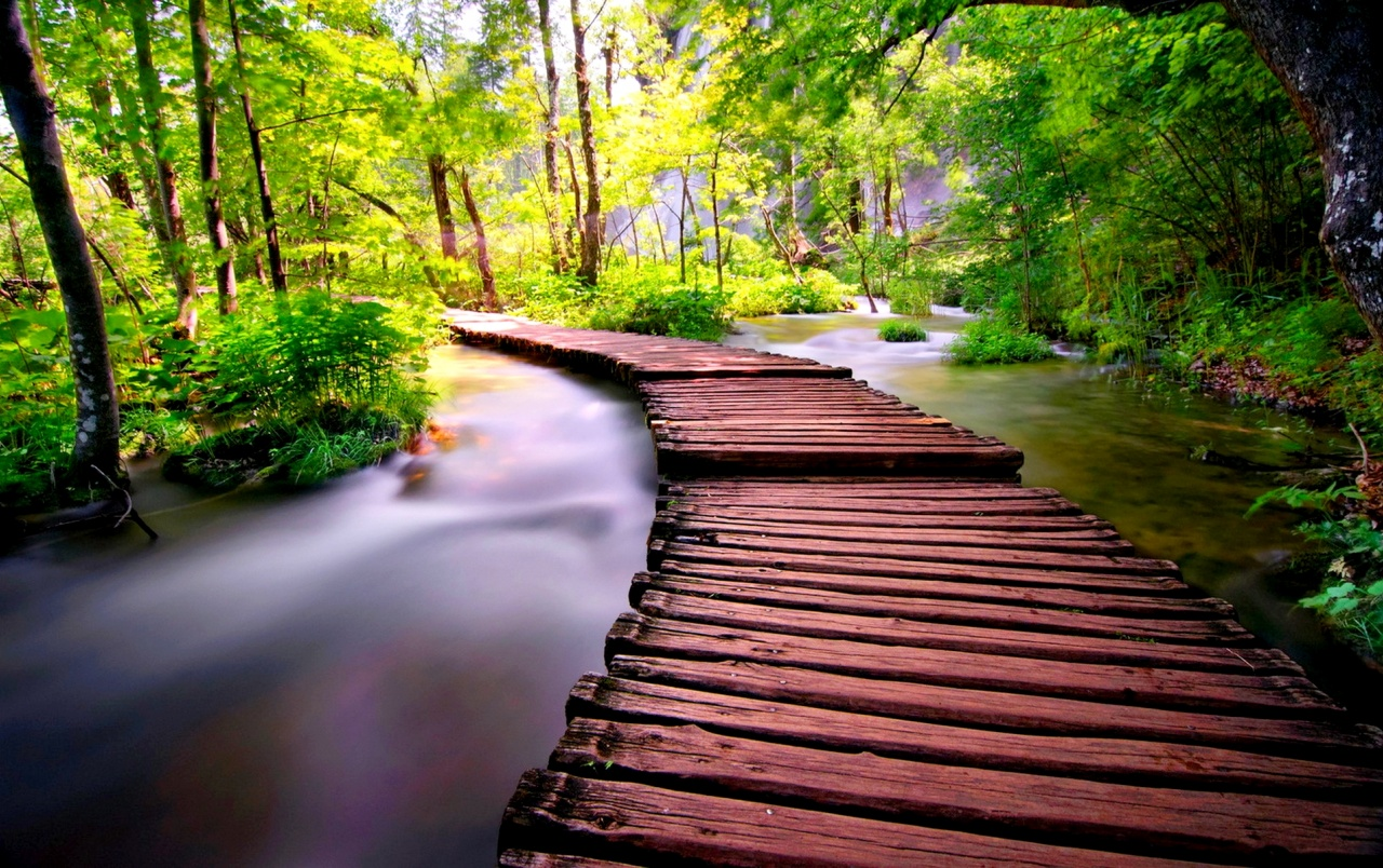 Iphone Six Fall Wallpaper Wooden Bridge Six Wallpapers Wooden Bridge Six Stock Photos