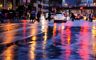 Rain Wallpaper Hd 3d Wet City Streets Wallpapers Wet City Streets Stock Photos
