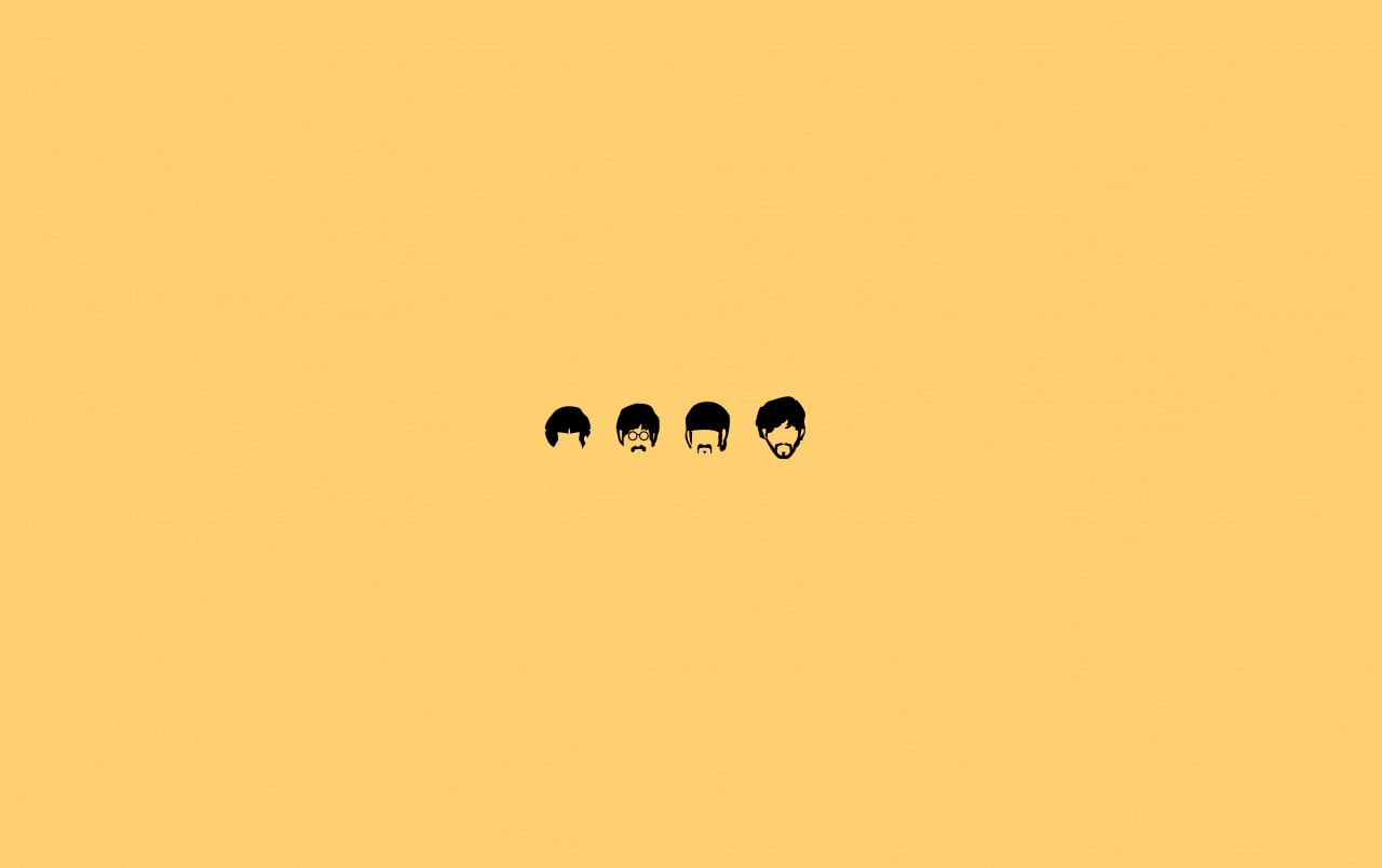 Cute Wallpapers Drawings Rose Gold The Beatles Minimalista Ilustraci 243 N Fondos De Pantalla