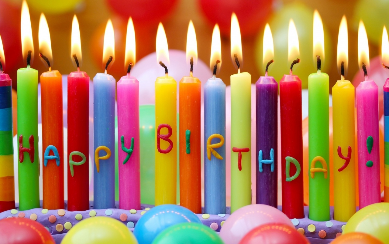 happy birthday candles wallpapers