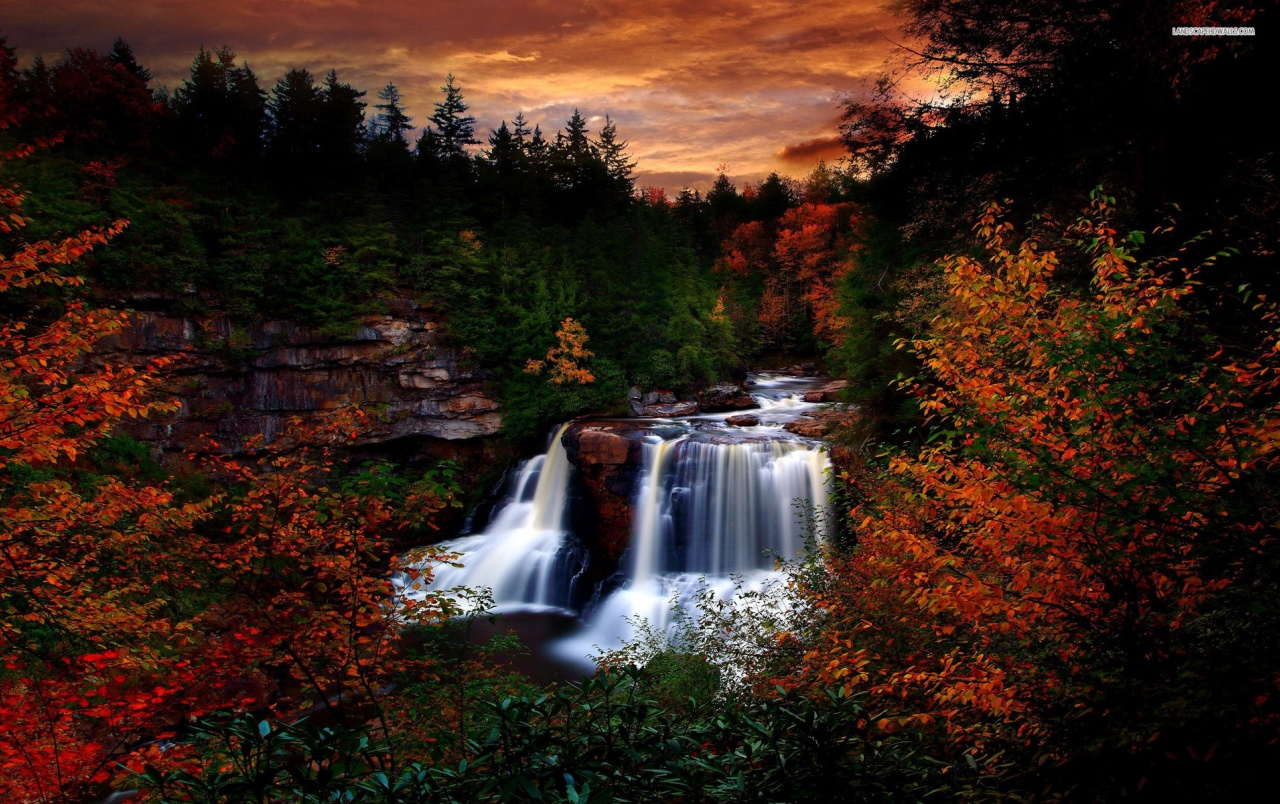 New England Fall Desktop Wallpaper Black Water Falls State Park Wallpapers Black Water