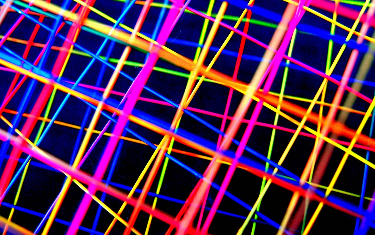 Abstract Colorful Lines Wallpapers