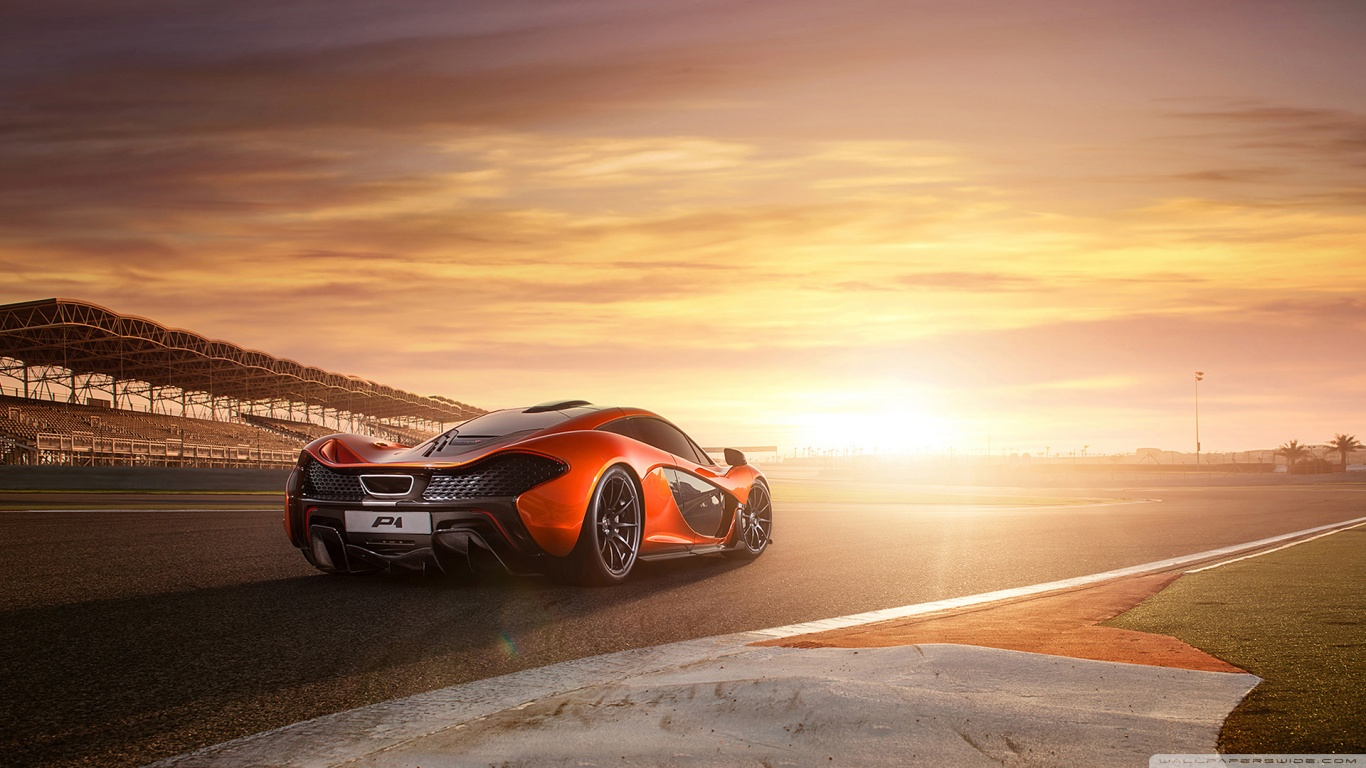 Full Hd Car Wallpapers 2014 2014 Mclaren P1 Racetrack 4k Hd Desktop Wallpaper For 4k
